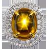 Sapphire Golden Star